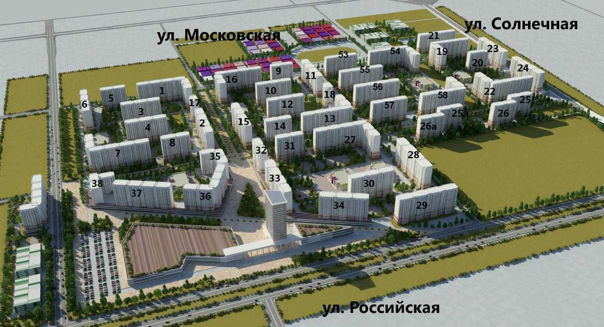 ЖК Московский ул. Артюшкова, Краснодар, ЗИП, Прикубанский